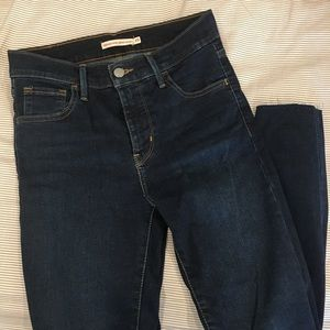 Levi's 720 high rise skinny jeans
